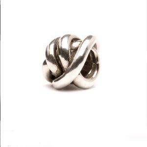 Trollbeads Lucky Knot silver bead